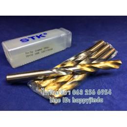 ดอกสว่านSTK 12mm. ชุปทอง