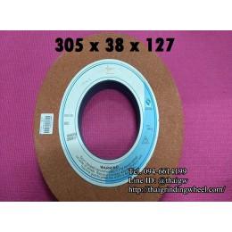 หินเจียรสีส้ม ขนาด12นิ้ว-305x38mm.