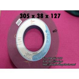 หินเจียรสีชมพูม่วง ขนาด12นิ้ว-305x38mm.