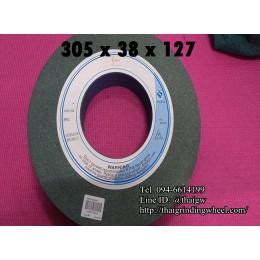 หินเจียรสีเขียว ขนาด12นิ้ว-305x38x127mm.