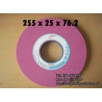 หินเจียรสีชมพูขนาด10นิ้ว-255x25x76mm.