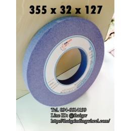 หินเจียรสีฟ้า ขนาด14นิ้ว-355x32x127mm.