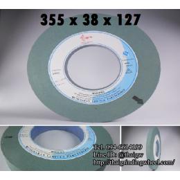 หินเจียรสีเขียว ขนาด14นิ้ว-355x38x127mm.