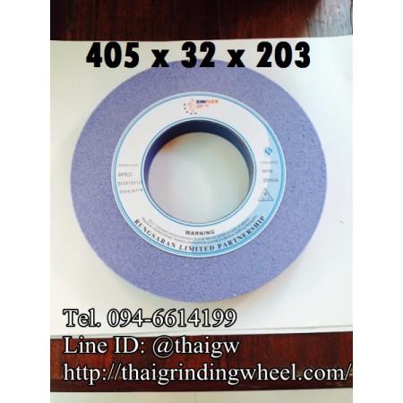 หินเจียรสีฟ้า ขนาด16นิ้ว-405x32mm.