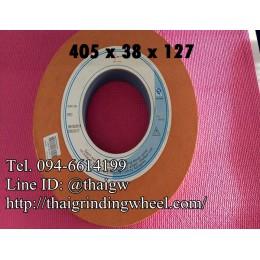 หินเจียรสีส้ม ขนาด16นิ้ว-405x38mm.