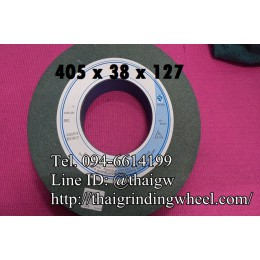 หินเจียรสีเขียว ขนาด16นิ้ว-405x38x127mm.