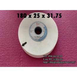 หินเจียรสีขาวขนาด7นิ้ว-180x25mm.