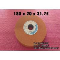 หินเจียรสีส้มขนาด7นิ้ว-180x20mm.