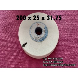 หินเจียรสีขาวขนาด8นิ้ว-200x25mm.
