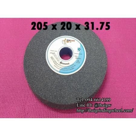 หินเจียรสีเทา ขนาด8นิ้ว-205x20mm.