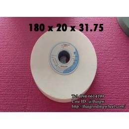 หินเจียรสีขาวขนาด7นิ้ว-180x20mm.