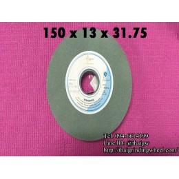 หินเจียรสีเขียวขนาด6นิ้ว-150x13mm.