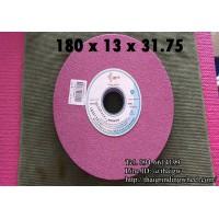 หินเจียรสีชมพูม่วง ขนาด7นิ้ว-180x13mm.