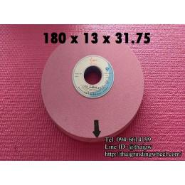 หินเจียรสีชมพูขนาด7นิ้ว-180x13mm.