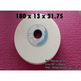 หินเจียรสีขาวขนาด7นิ้ว-180x13mm.